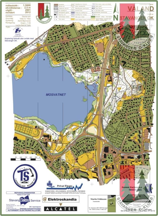 sørmarka stavanger kart Materiell og kart « Stavanger ok sørmarka stavanger kart
